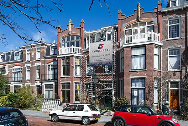 Buitenschilderwerk Adriaan Pauwstraat - Statenkwartier