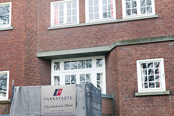 Buitenschilderwerk Van Hogenhoucklaan - Benoordenhout