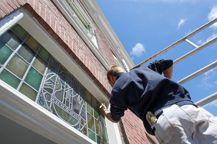ramen en kozijnen schilderen